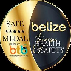 Tourism Gold Standard Badge Belize