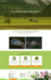 Landscaping Services Wix Website Template