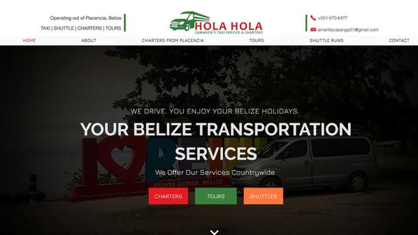 Hola Hola Chartes Website Project