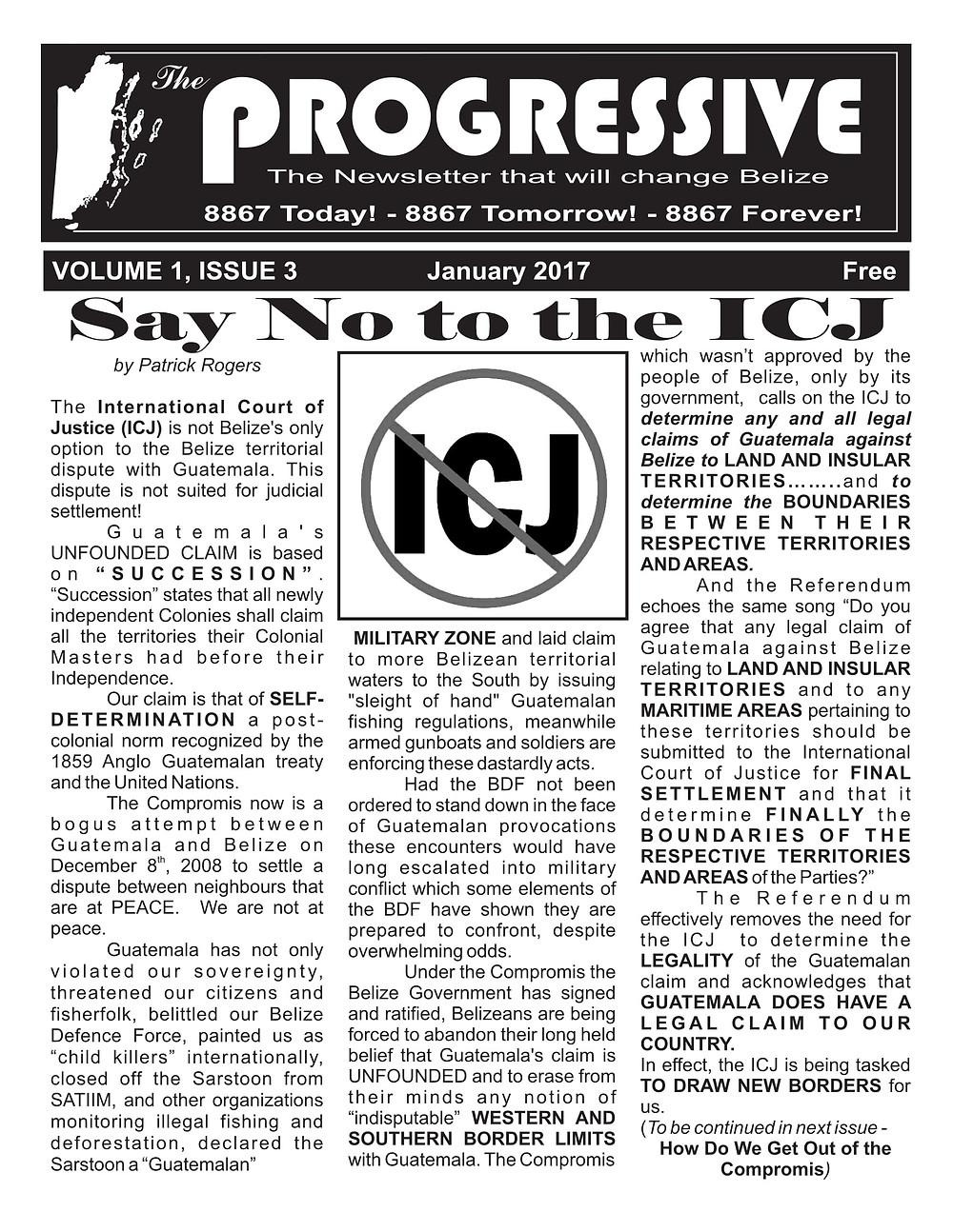 The Progressive Vol. 1 Issue 3