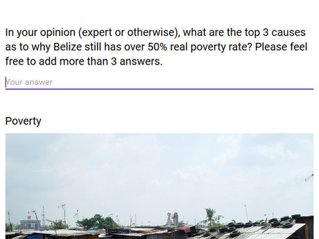 BPP Survey - Poverty in Belize