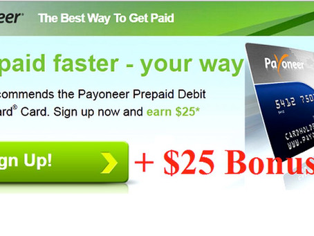 Need A Way To Easily Collect Payments Online? Try and earn money with Payoneer.