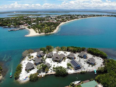 Aerial of Placencia Village