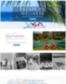 Belize Tour Company Website Desgn
