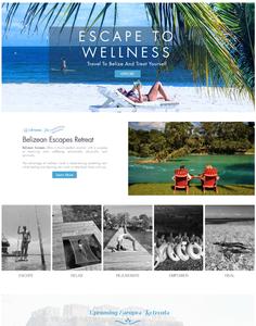 Belize tour company website design