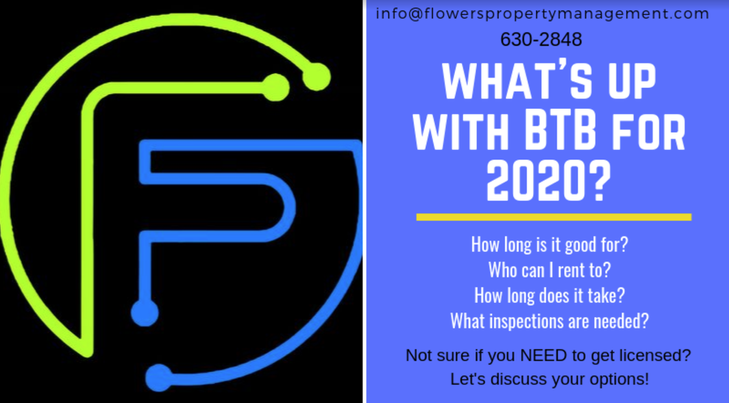 What's Up With BTB for 2020?