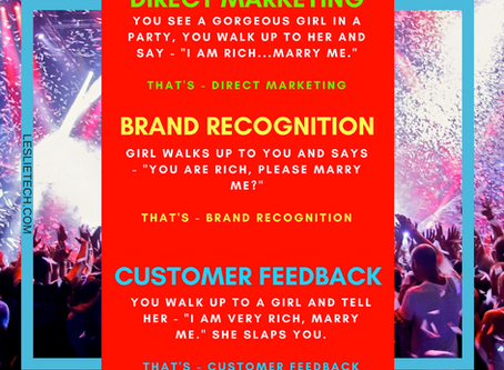3 TYPES OF MARKETING (FUNNY)