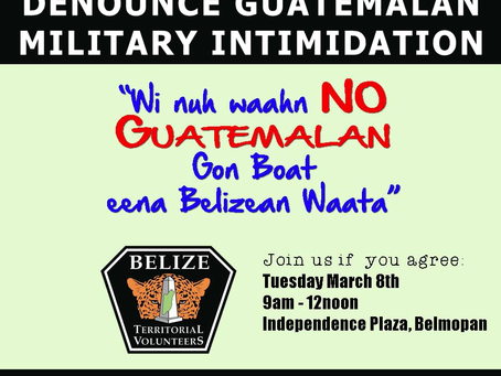 Existential Threat to Belize's Territorial Integrity