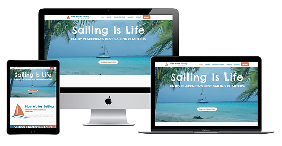 Blue Water Sailing Website Project