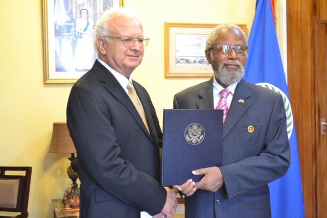 Carlos Moreno - US ambassador to Belize