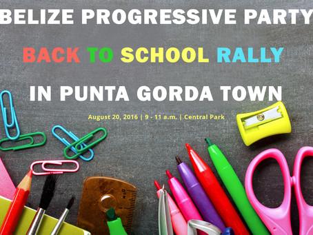 BPP Back To School Rally. Punta Gorda. A big Success.