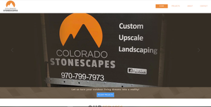 Colorado Stonescapes Website Development