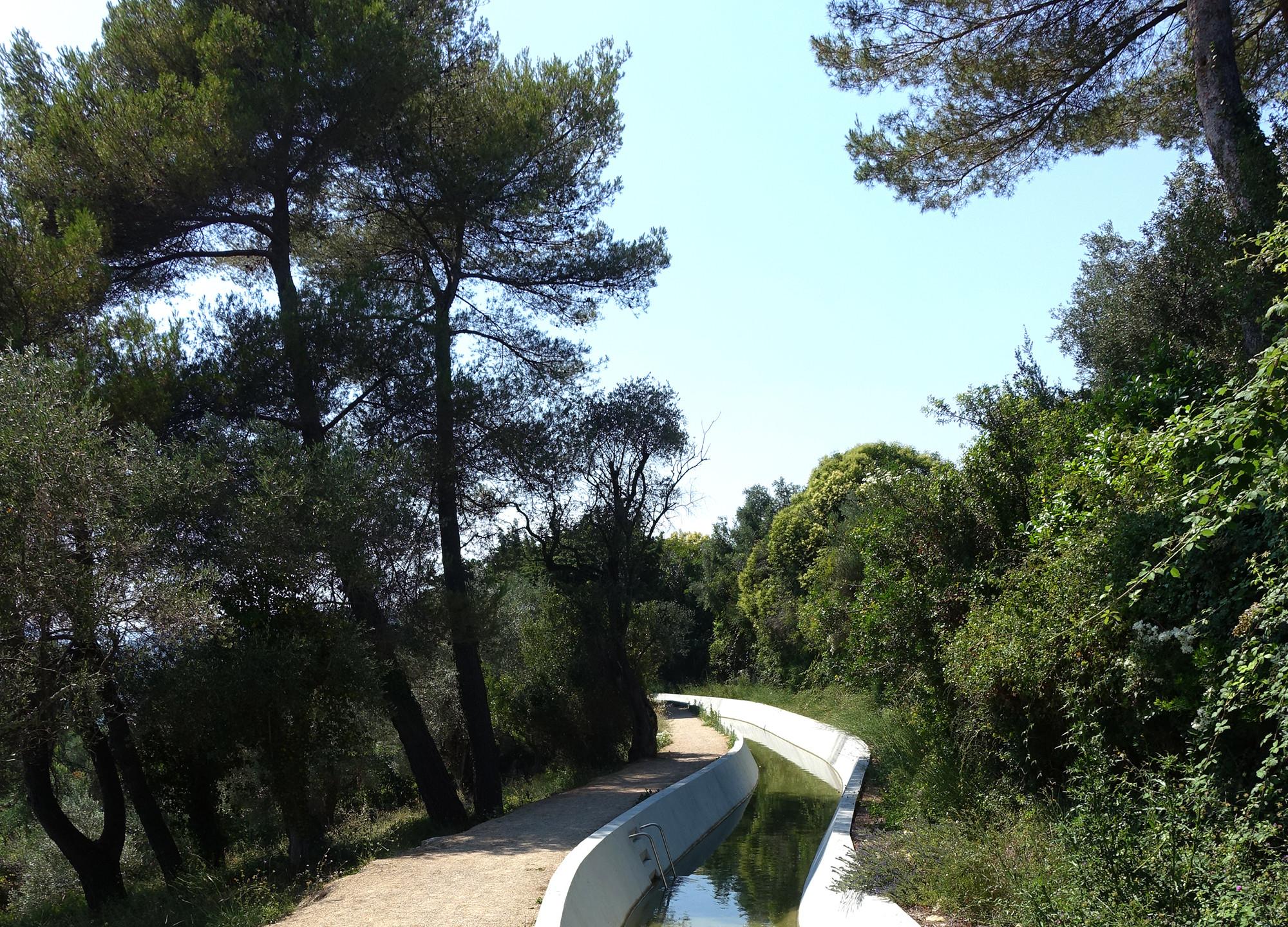 Canal de la Siagne, Mougins