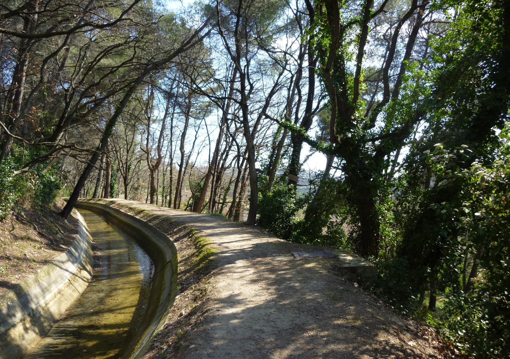 Canal de la Siagne, Spéracedes