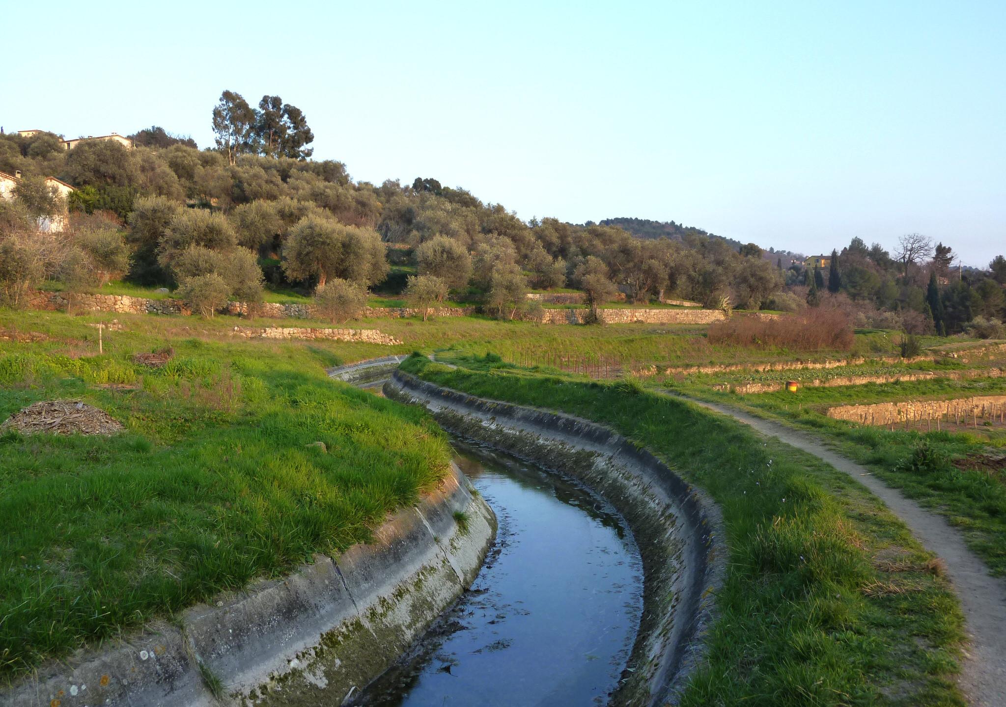 Canal de la Siagne, Grasse