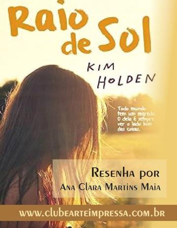 LIVRO RAIO DE SOL de KIM HOLDEN