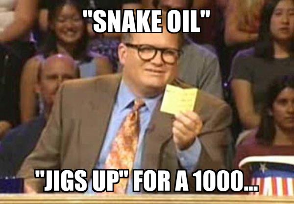 """Sen. Grassley Inspired! """"Snake Oil"""""""