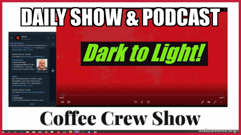 Coffee Crew Daily |Show *Podcast