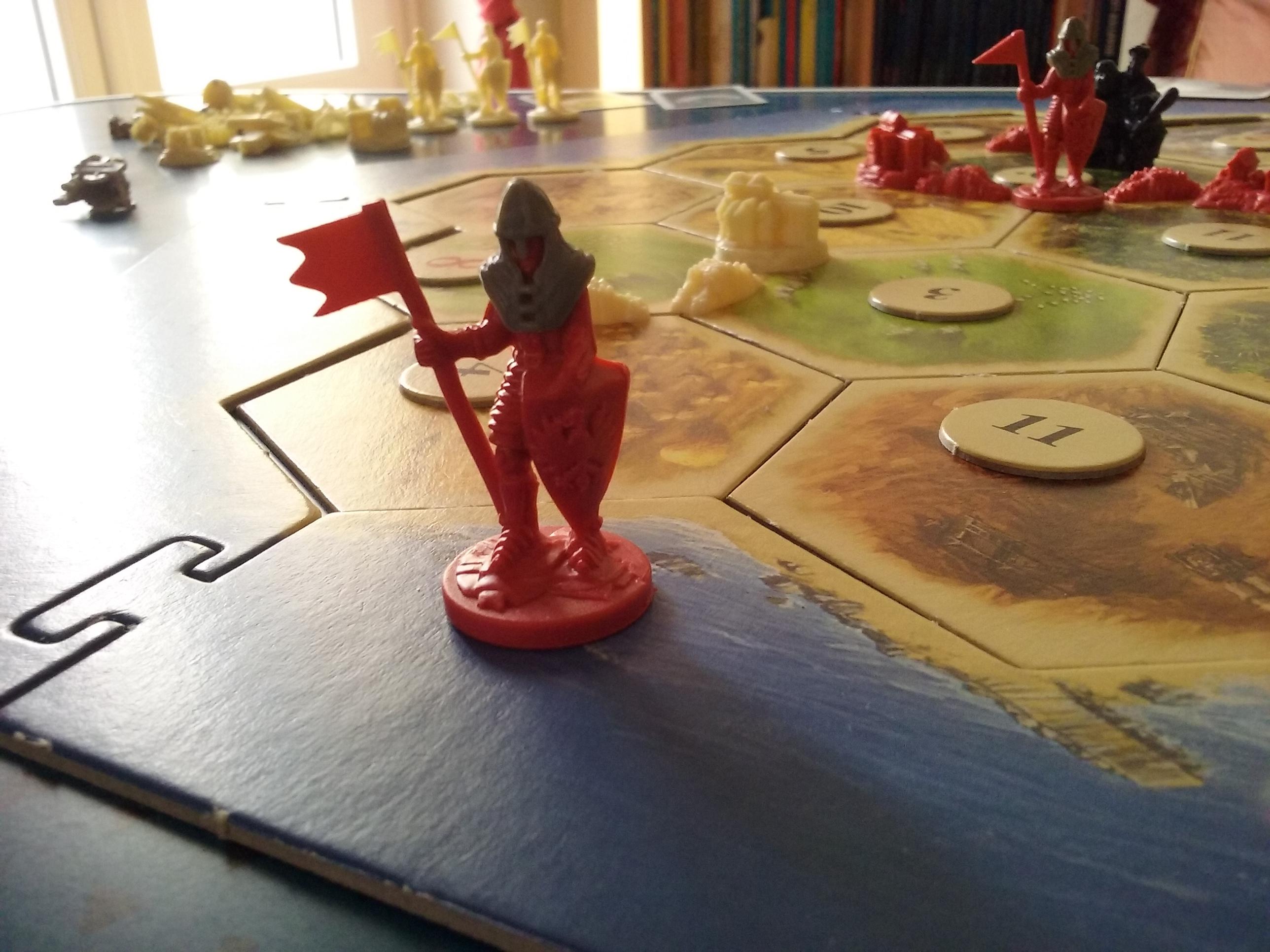 Catan extension villes et chevaliers