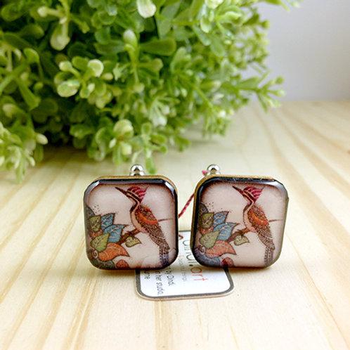 Woodpecker Cufflinks