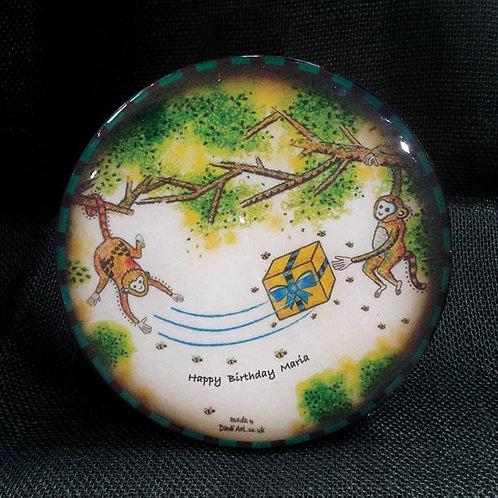 Customised Monkey Coaster