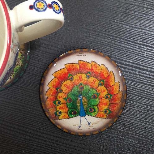 Peacock - Coaster