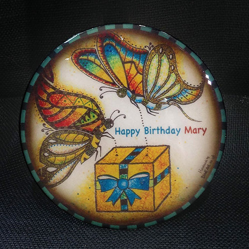 Customised Butterfly Coaster