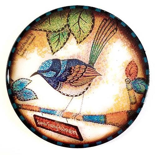 Blue Wren Coaster