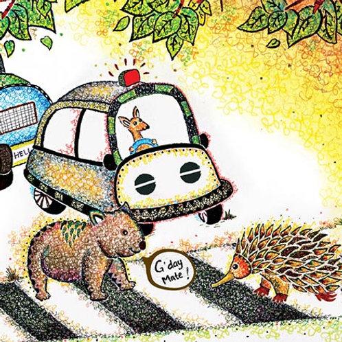 Wombat - Echidna Card