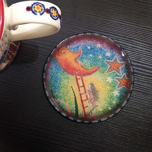 Moon - Coaster