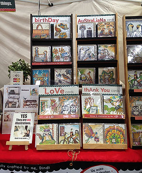 Greeting Cards by Dindi Art