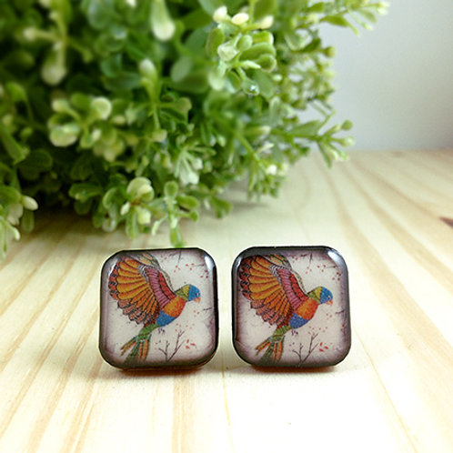 Lorikeet Cufflinks