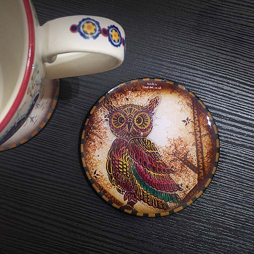 Owl - Coaster