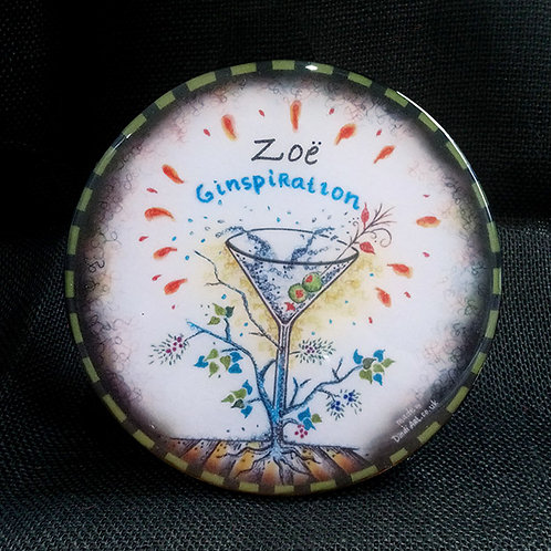 Customised Ginspiration Coaster