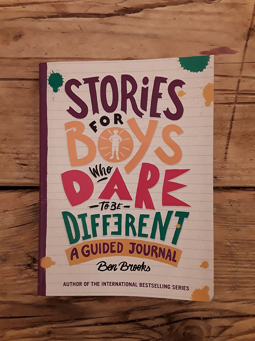 Stories for boys who dare to be different a guided journal