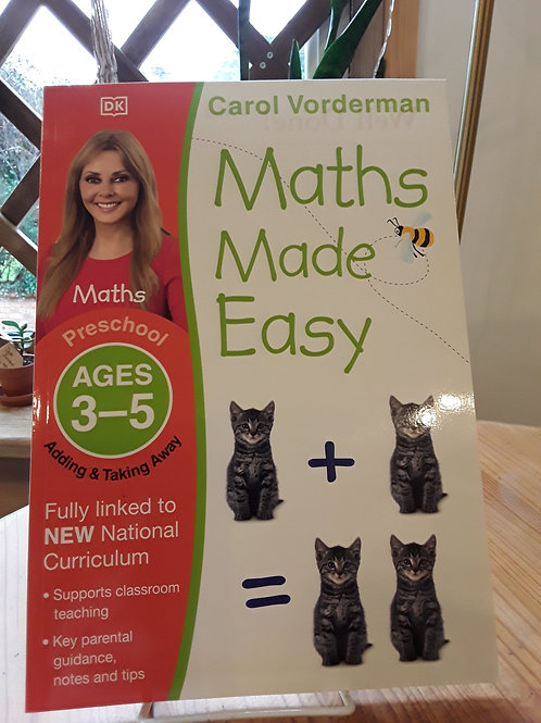 Maths made easy/ 3-5 yrs