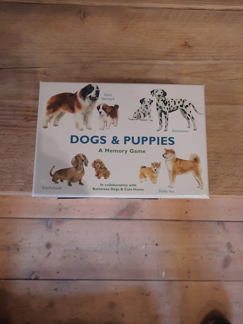 Dogs and Puppies/ memory game