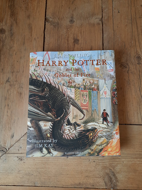 Harry Potter and the Goblet of Fire/ Illustrated