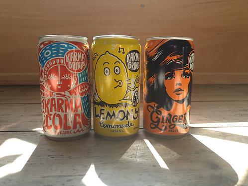 Karma Cola Fizzy Drink