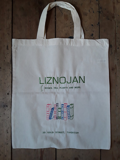 Liznojan Embroidered Cotton Bag