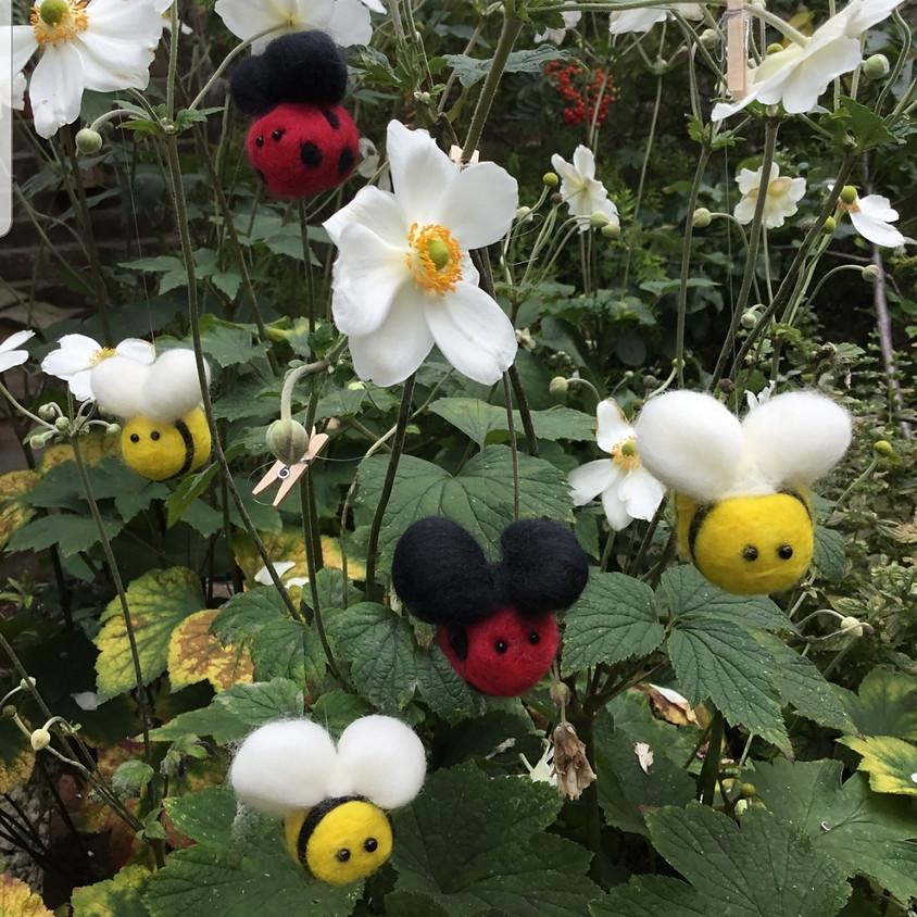 Needlefelt a Bee or Ladybird