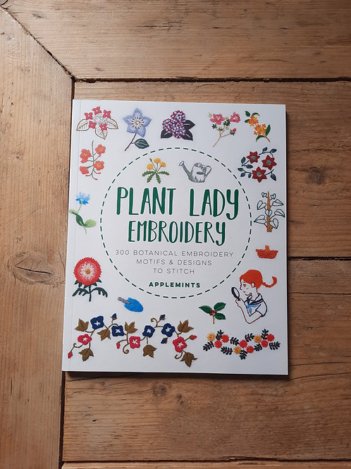 Plant Lady Embroidery
