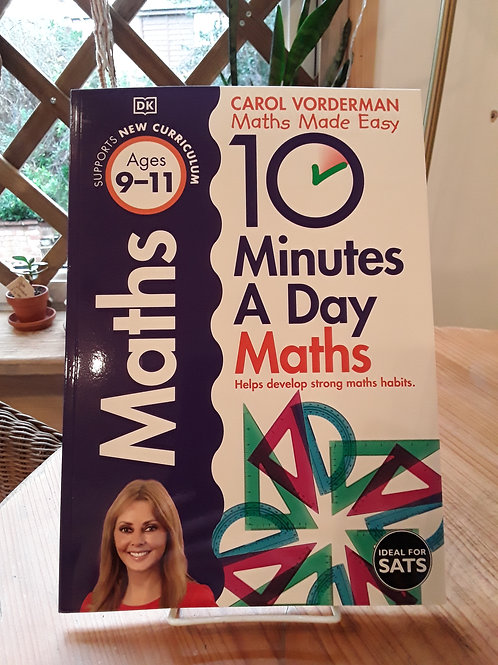 10 minutes a day maths / ages 9-11