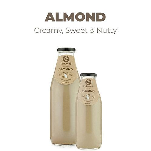 Rerooted's Organic Almond Milk