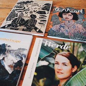 Independent magazine selection from Liznojan, Tiverton, Devon