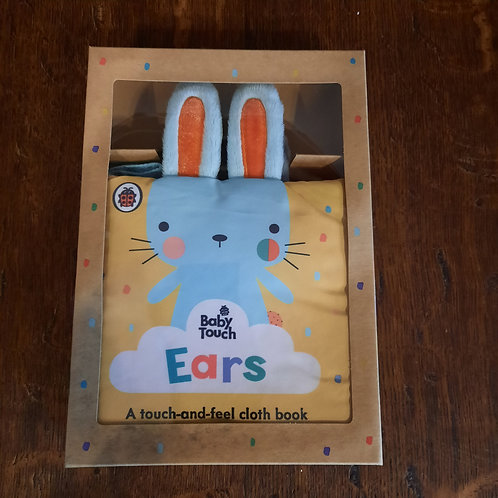 Baby touch Ears/ cloth book