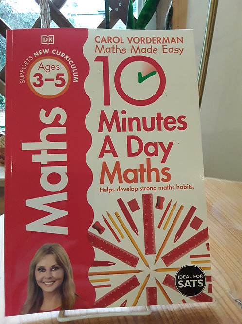 10 minutes maths a day / 3-5 yrs