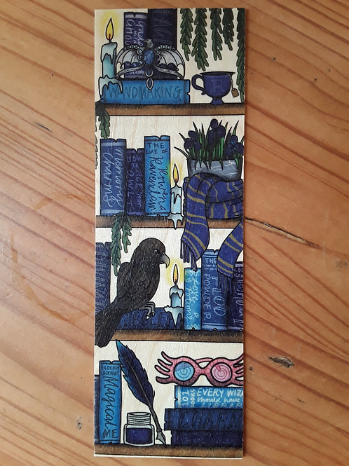 Harry Potter - Ravenclaw, wooden bookmark