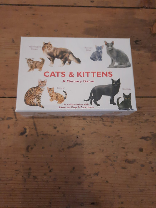 Cats and kittens/ a memory game