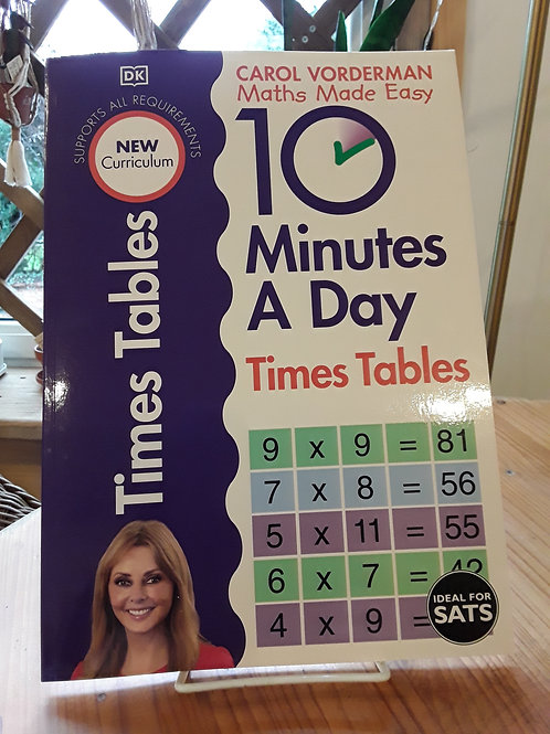 10 minutes maths a day/ times tables